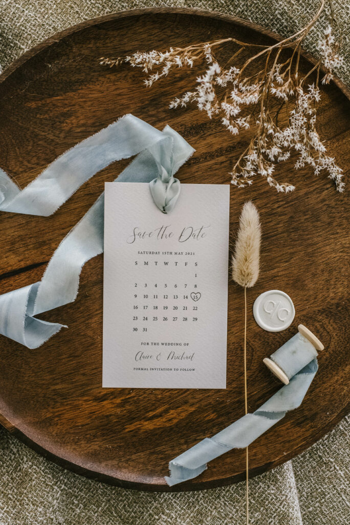 bespoke save the date creation